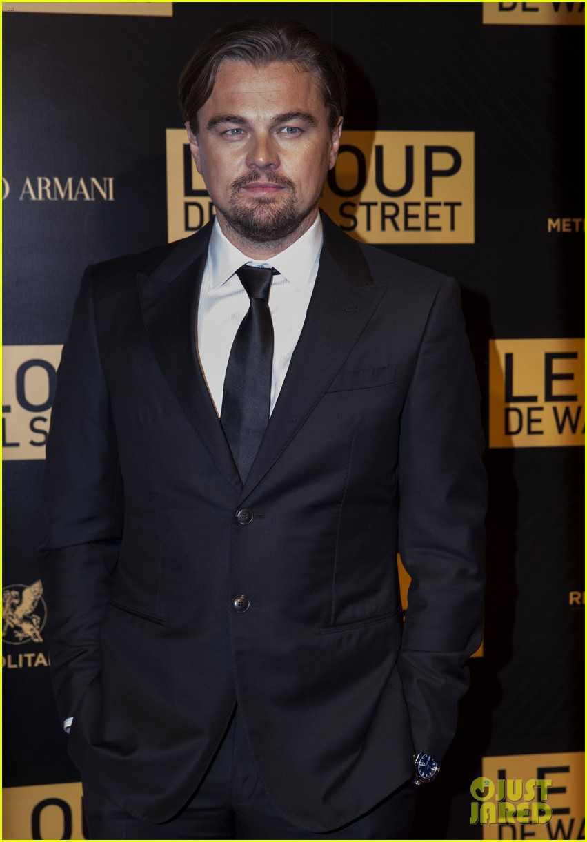 leonardo dicaprio wolf of wall street paris photo call 113008442