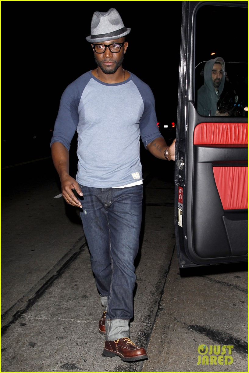 taye diggs sweats it out at post christmas club night 083018316
