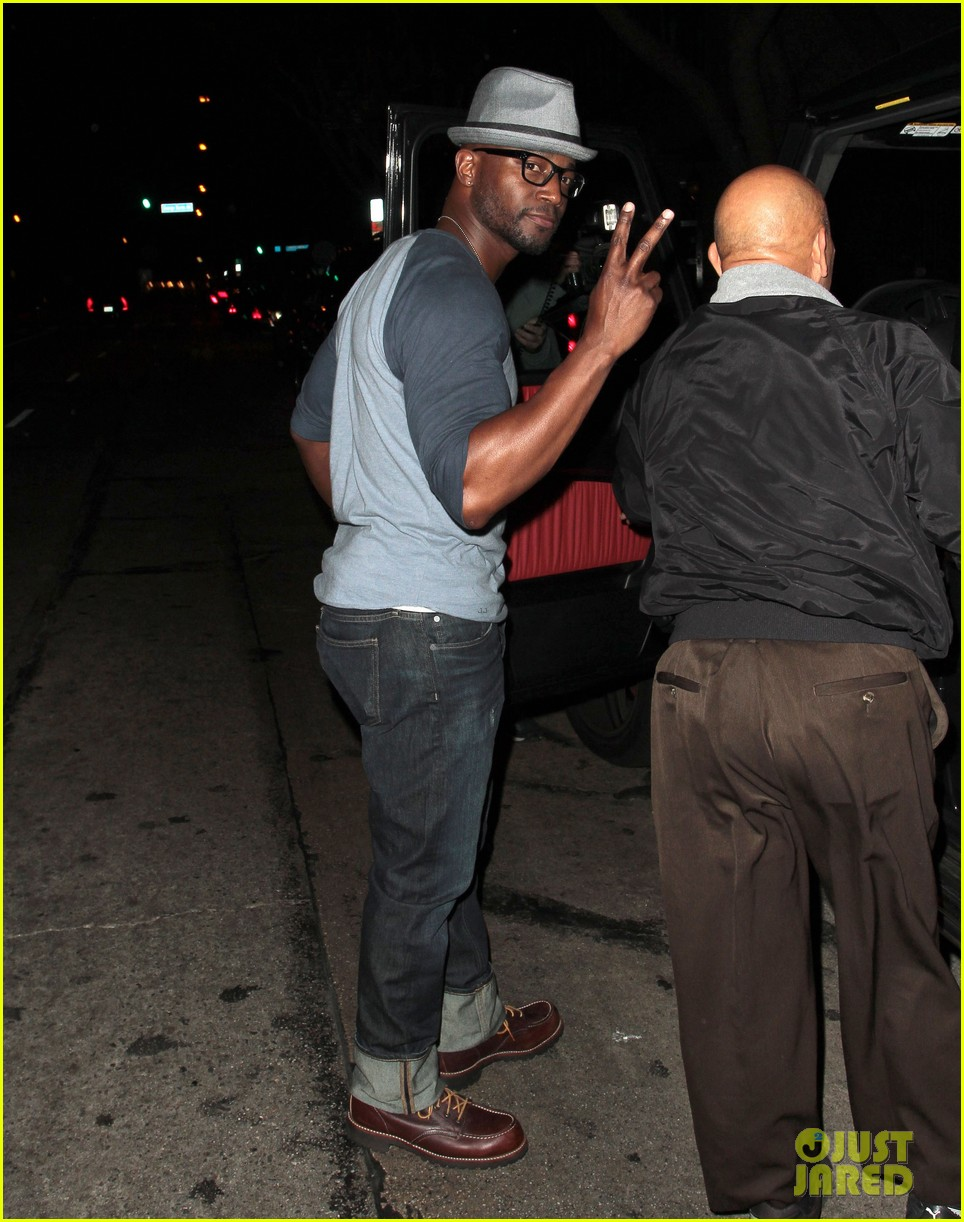 taye diggs sweats it out at post christmas club night 133018321