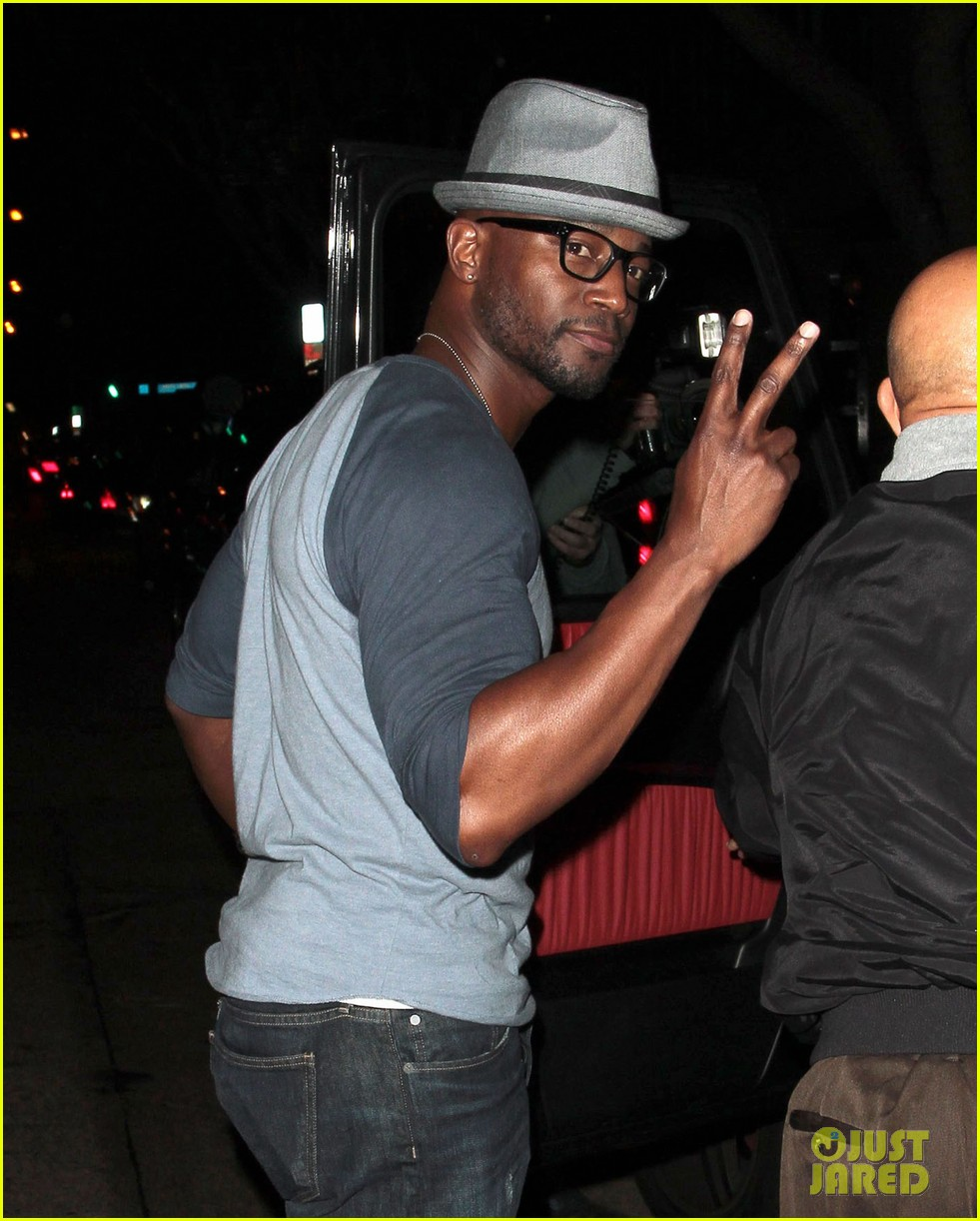 taye diggs sweats it out at post christmas club night 14