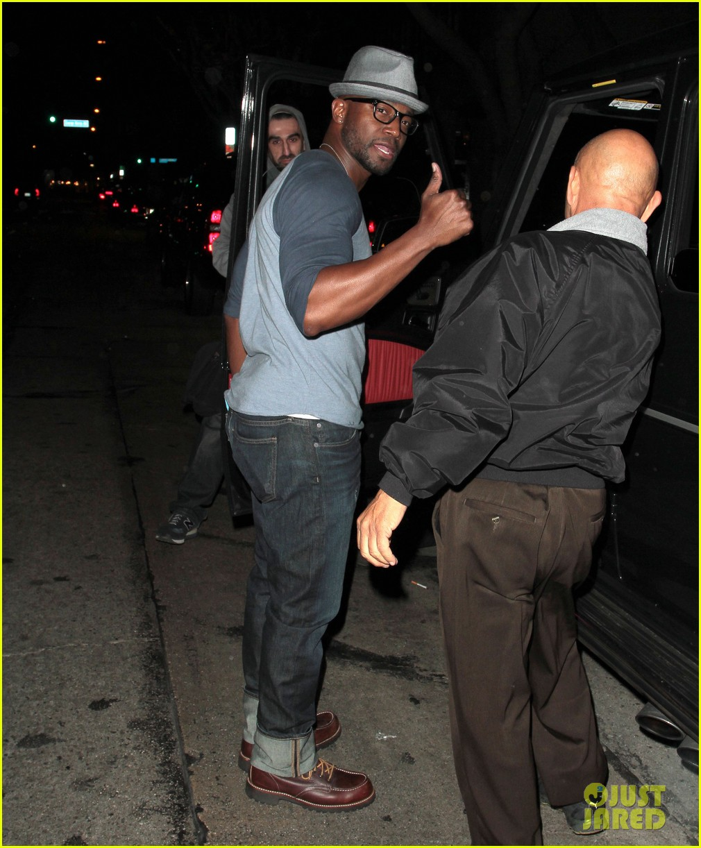 taye diggs sweats it out at post christmas club night 153018323