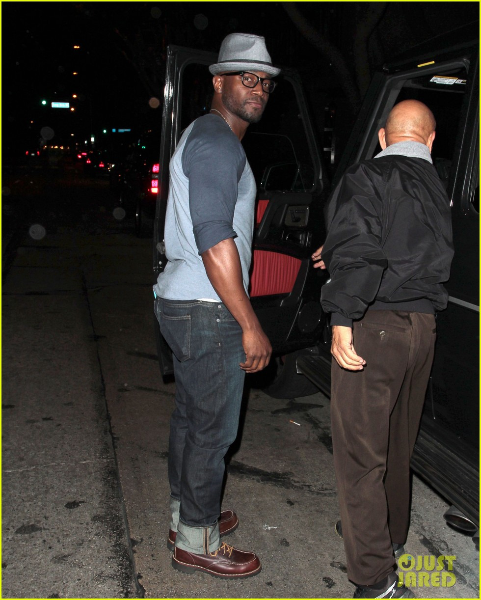 taye diggs sweats it out at post christmas club night 163018324