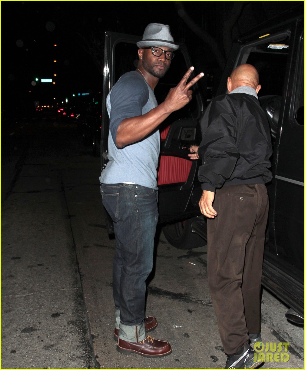 taye diggs sweats it out at post christmas club night 183018326