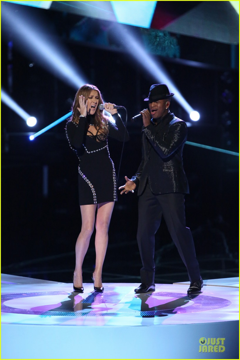 celine dion ne yo incredible performance on the voice video 023013981
