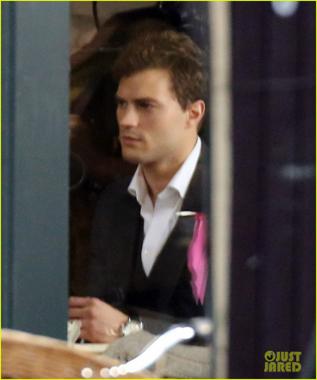 jamie dornan filming fifty shades of grey first photos on set 133002973