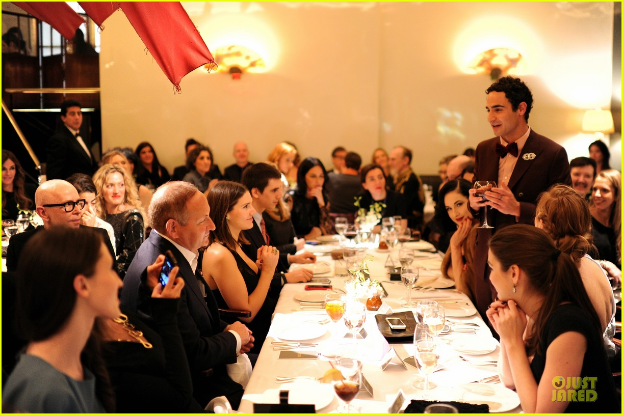 dita von teese uma thurman zac posen pre fall dinner 103010443