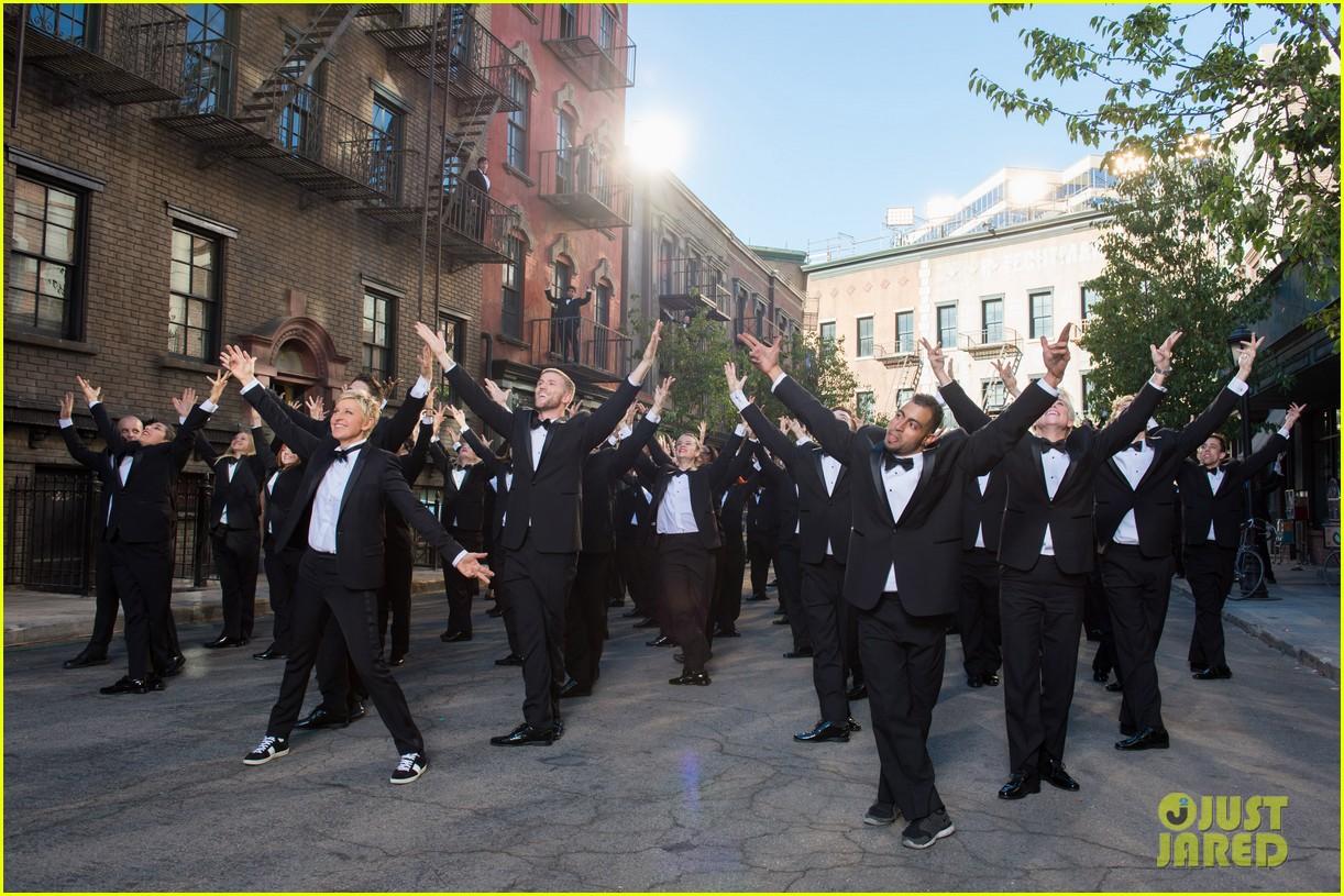 ellen degeneres dances down the streets in first oscars promo 01