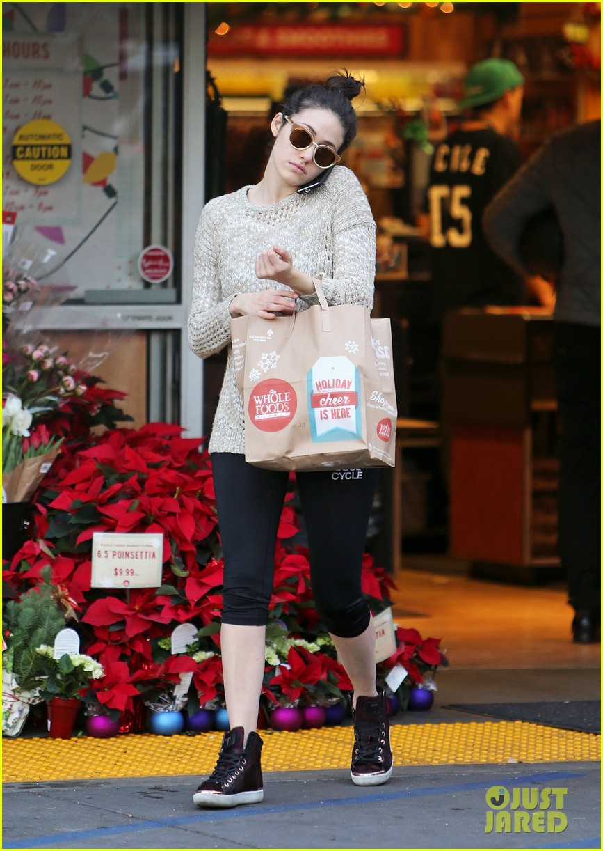 emmy rossum lazy catch up day with justin chatwin 013016606