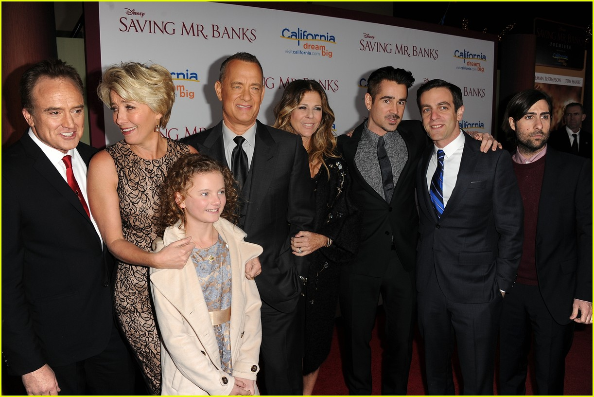 colin farrell tom hanks saving mr banks la premiere 023008719