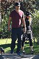 fergie josh duhamel dog walking duo 06