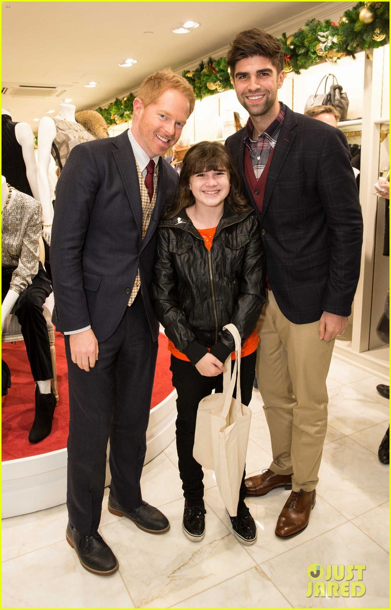 jesse tyler ferguson colton haynes brook brothers holiday celebration 10