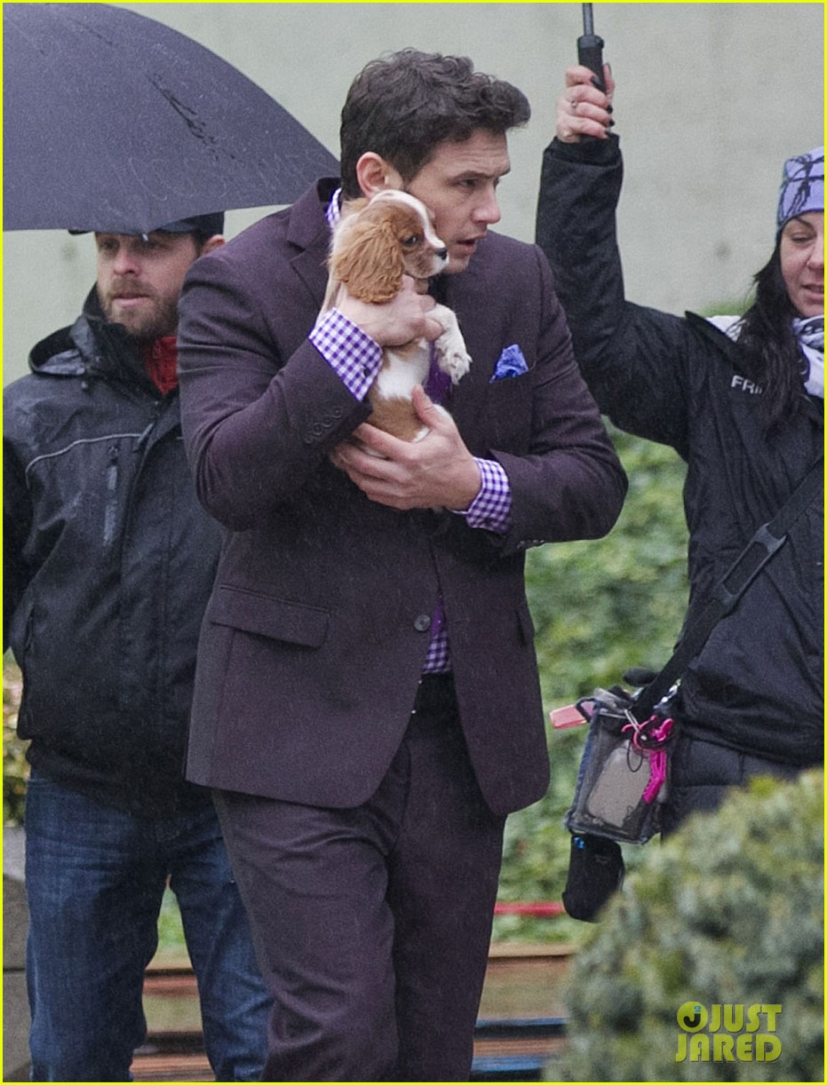 james franco cradles puppy with seth rogen for interview 023002913