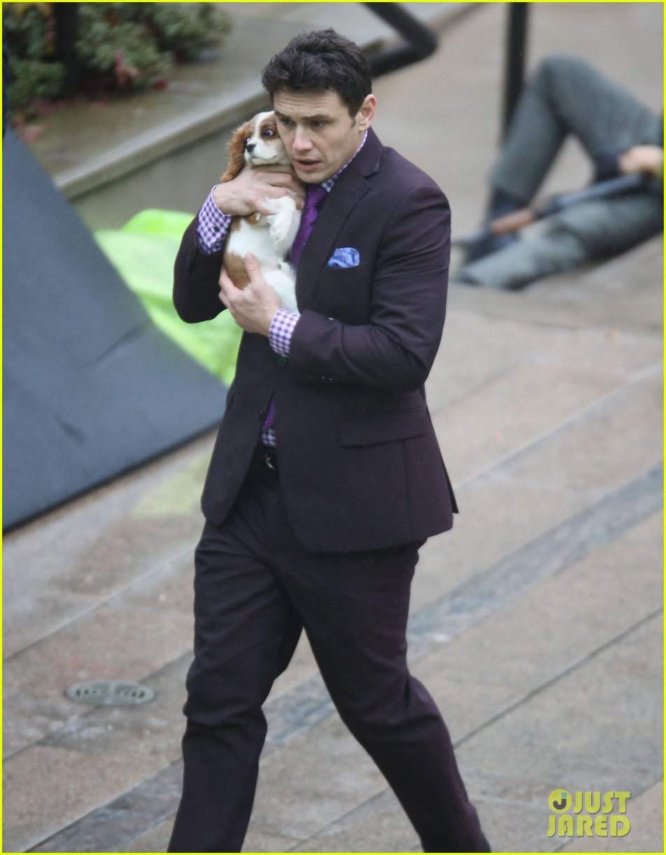 james franco cradles puppy with seth rogen for interview 24