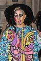 lady gaga paints eyeball on eyelid gives illusion eyes always open 18
