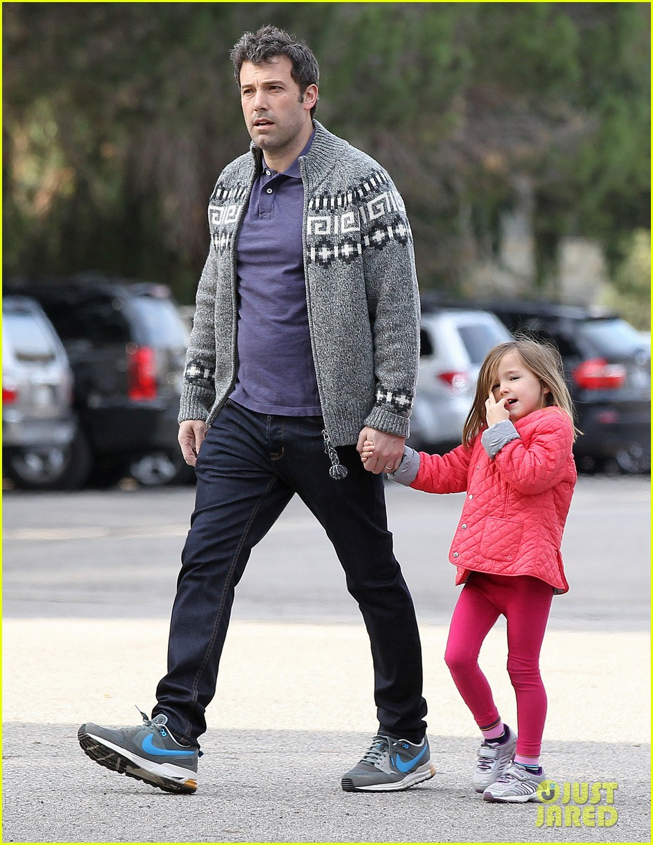 jennifer garner ben affleck sunday park day with the kids 073008328