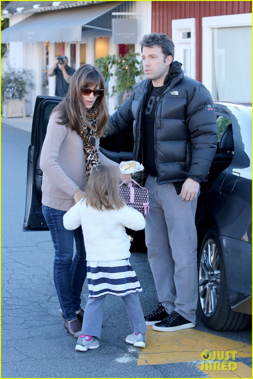 jennifer garner ben affleck wednesday morning breakfast 073009817