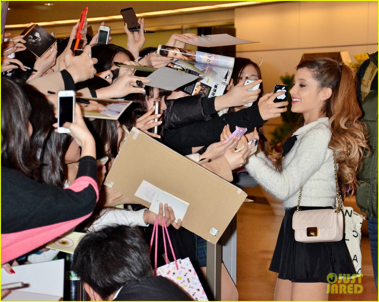 ariana grande touches down in japan before new years eve 023020365
