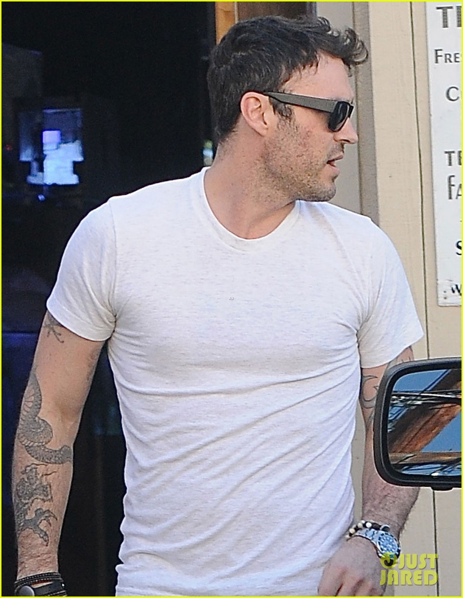 brian austin green steps out with 15 month old son noah 04