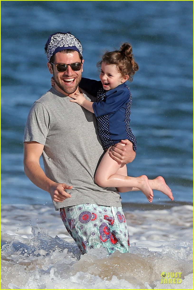 max greenfield shirtless vacation with bikini clad wife tess 083020274