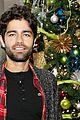 adrian grenier lacoste christmas lights celebration 10