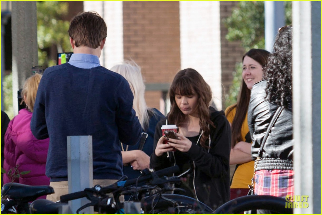 hailee steinfeld wrapping up barely lethal filming 043010200