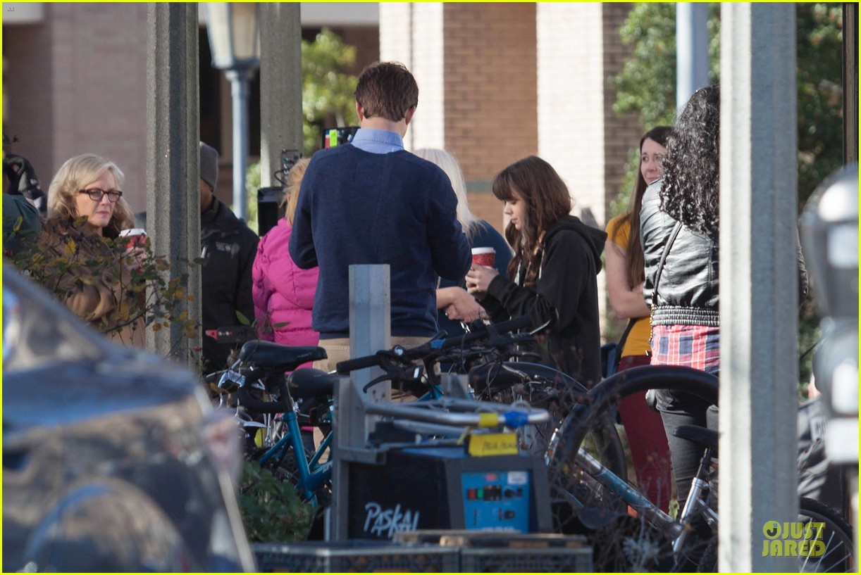 hailee steinfeld wrapping up barely lethal filming 073010203
