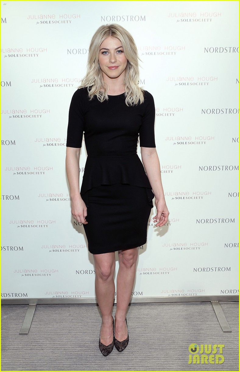 julianne hough sole society shoe collection launch 013007535