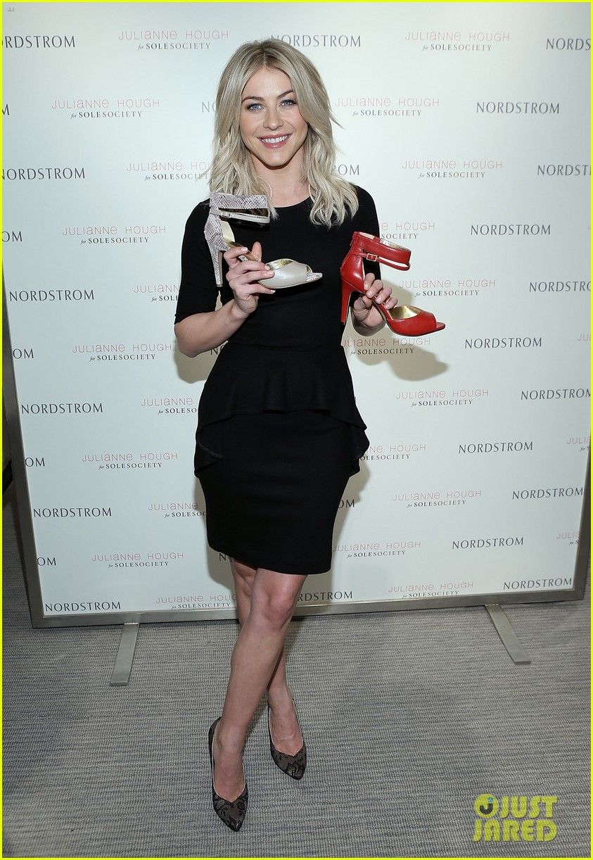 julianne hough sole society shoe collection launch 103007544