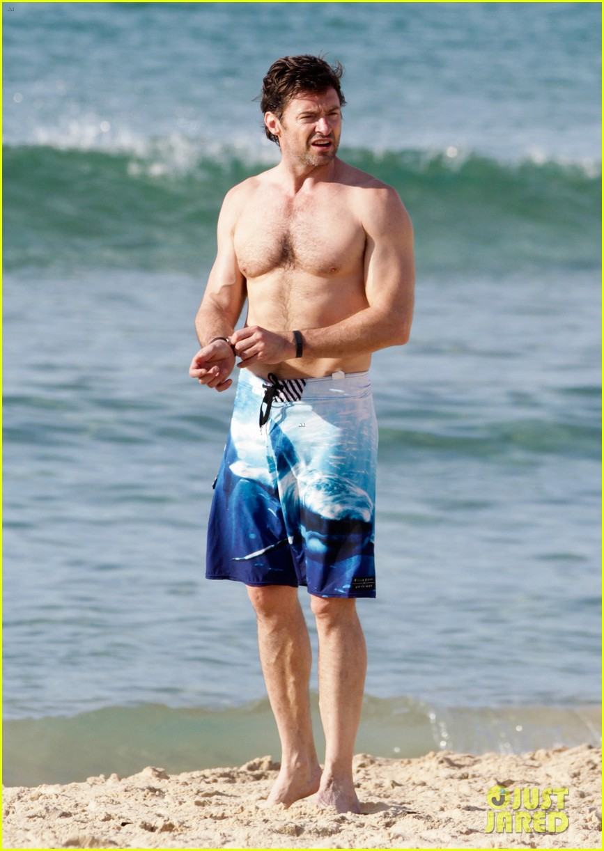 hugh jackman goes sexy shirtless after pan casting news 013015052