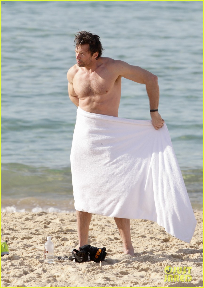 hugh jackman goes sexy shirtless after pan casting news 033015054