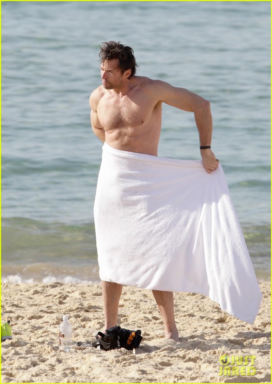 hugh jackman goes sexy shirtless after pan casting news 03
