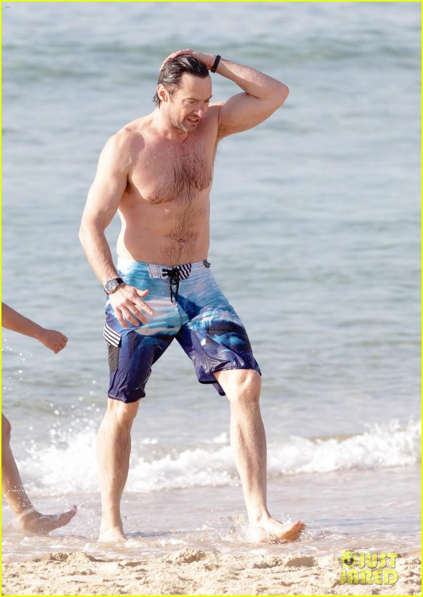 hugh jackman goes sexy shirtless after pan casting news 043015055