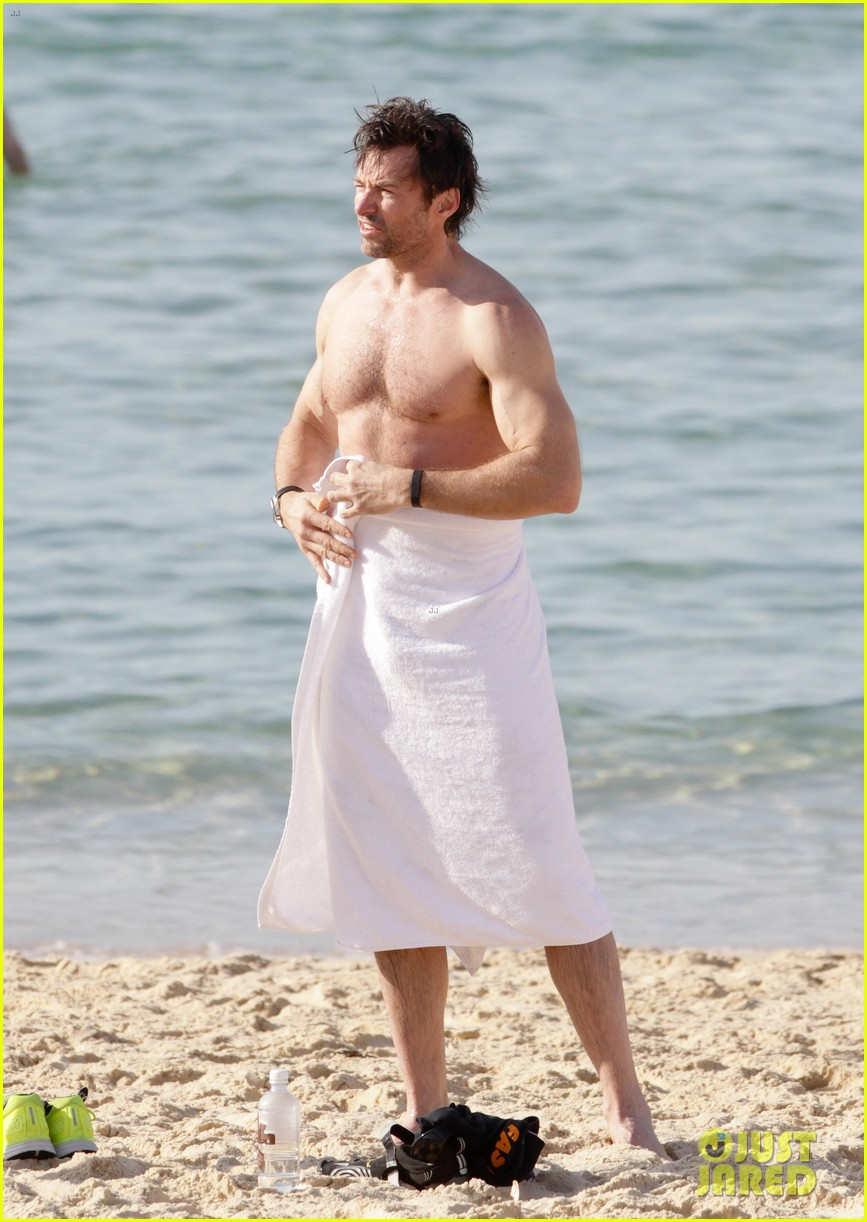 hugh jackman goes sexy shirtless after pan casting news 063015057