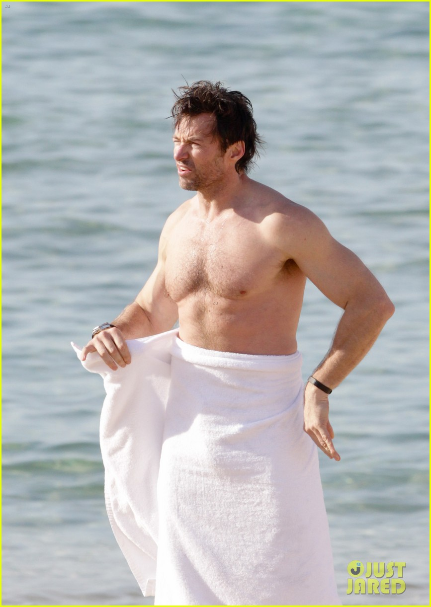 hugh jackman goes sexy shirtless after pan casting news 093015060