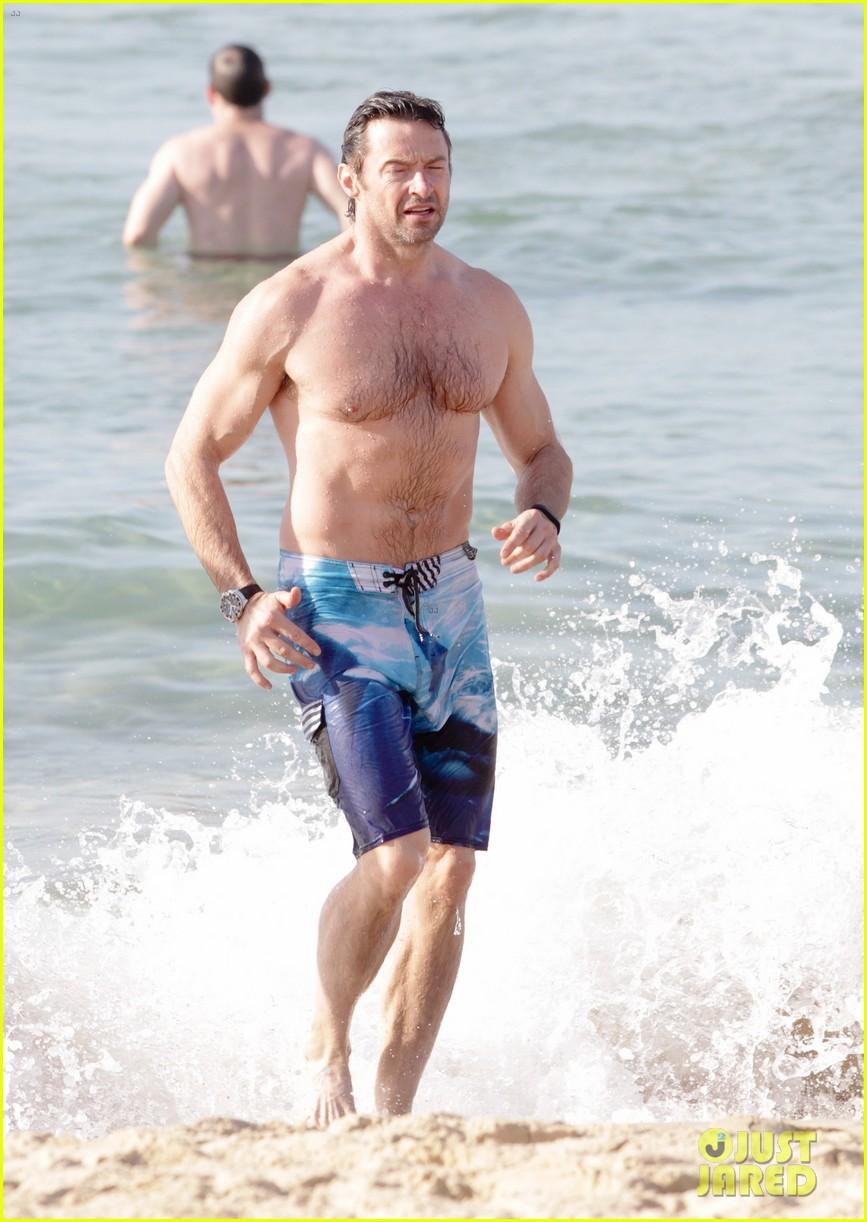 hugh jackman goes sexy shirtless after pan casting news 103015061