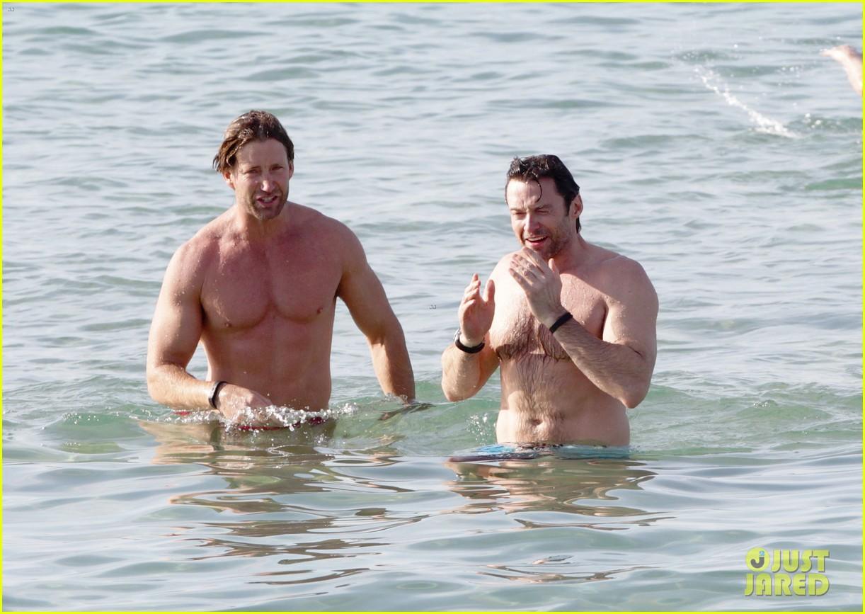 hugh jackman goes sexy shirtless after pan casting news 193015070