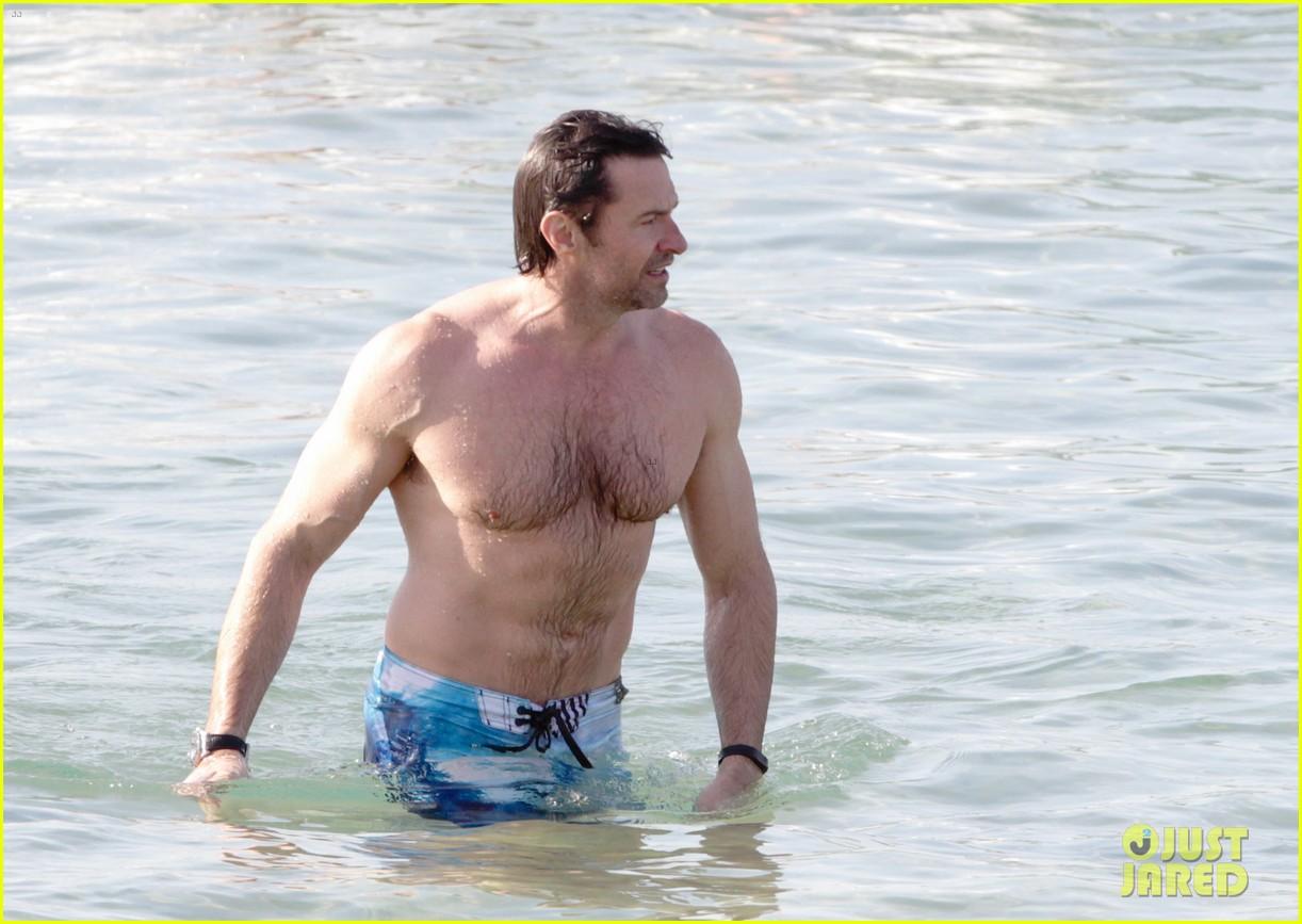 hugh jackman goes sexy shirtless after pan casting news 213015072