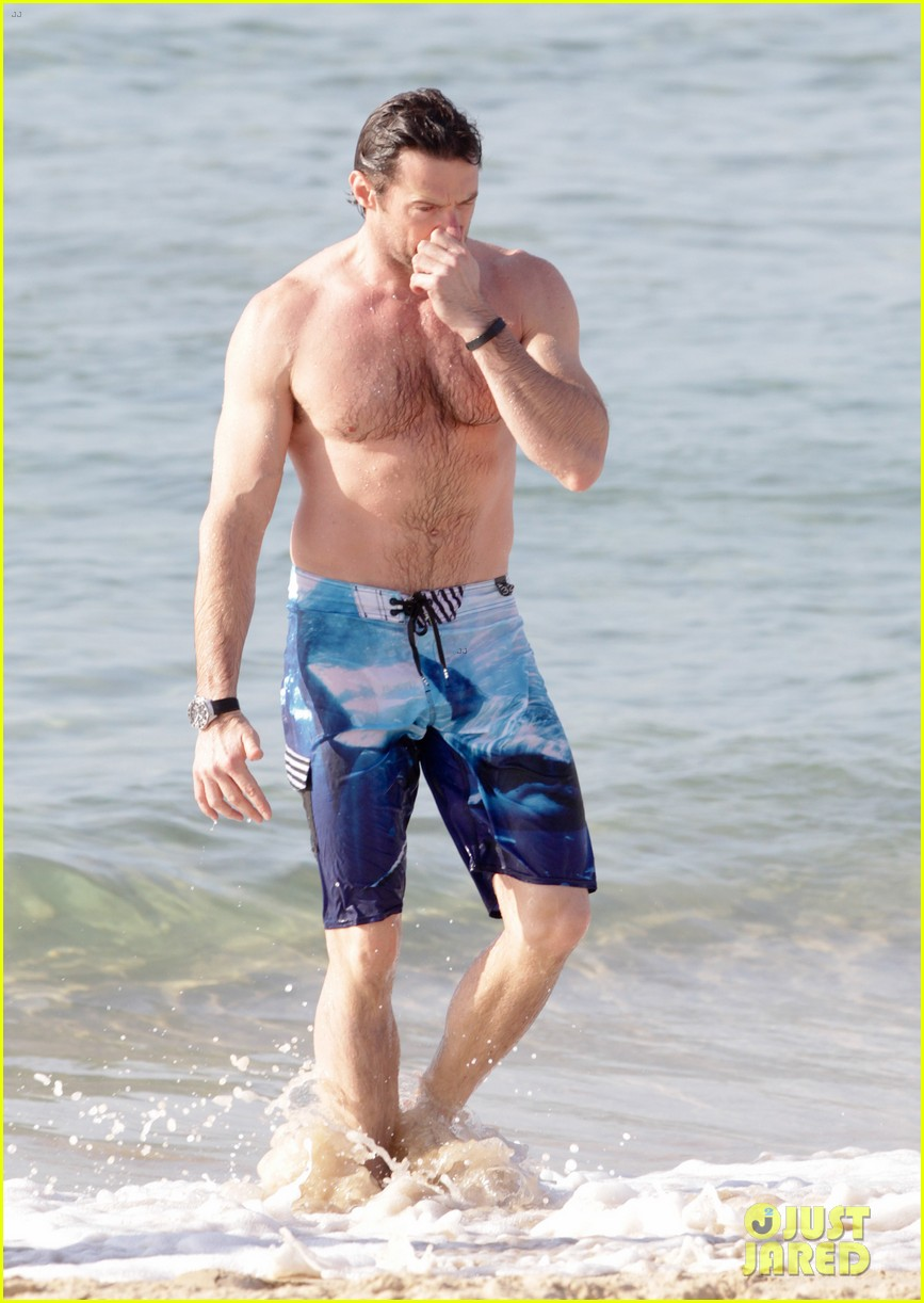 hugh jackman goes sexy shirtless after pan casting news 243015075