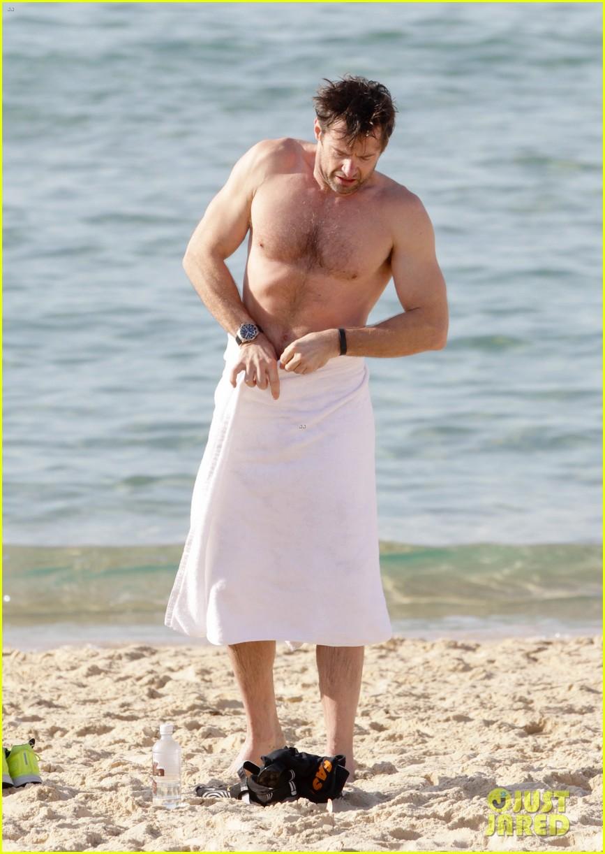 hugh jackman goes sexy shirtless after pan casting news 263015077