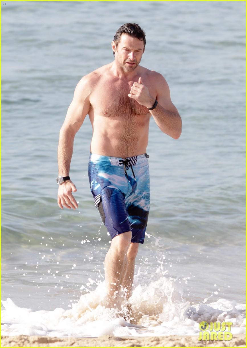 hugh jackman goes sexy shirtless after pan casting news 283015079
