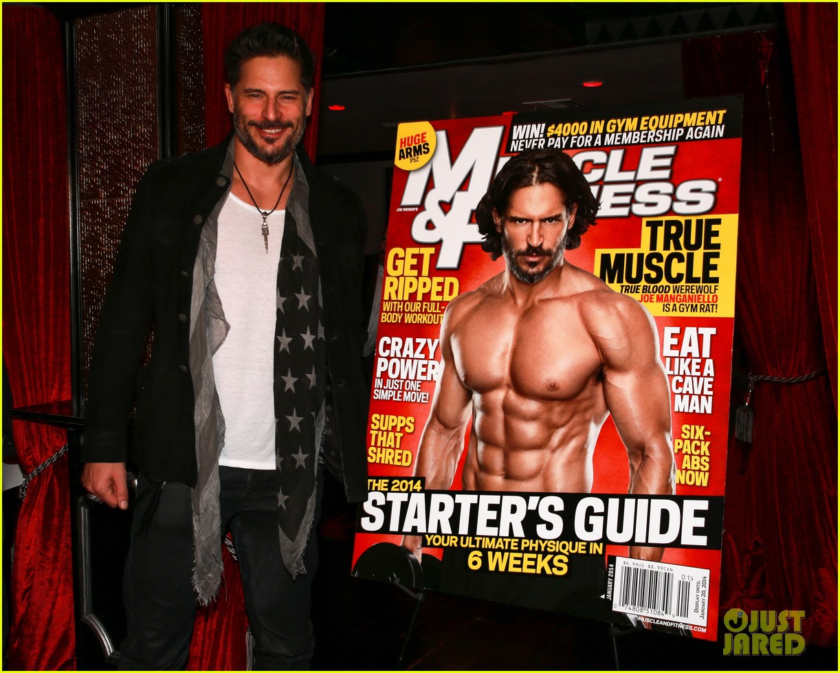 joe manganiello celebrates muscle fitness cover with arnold schwarzenegger 023014924