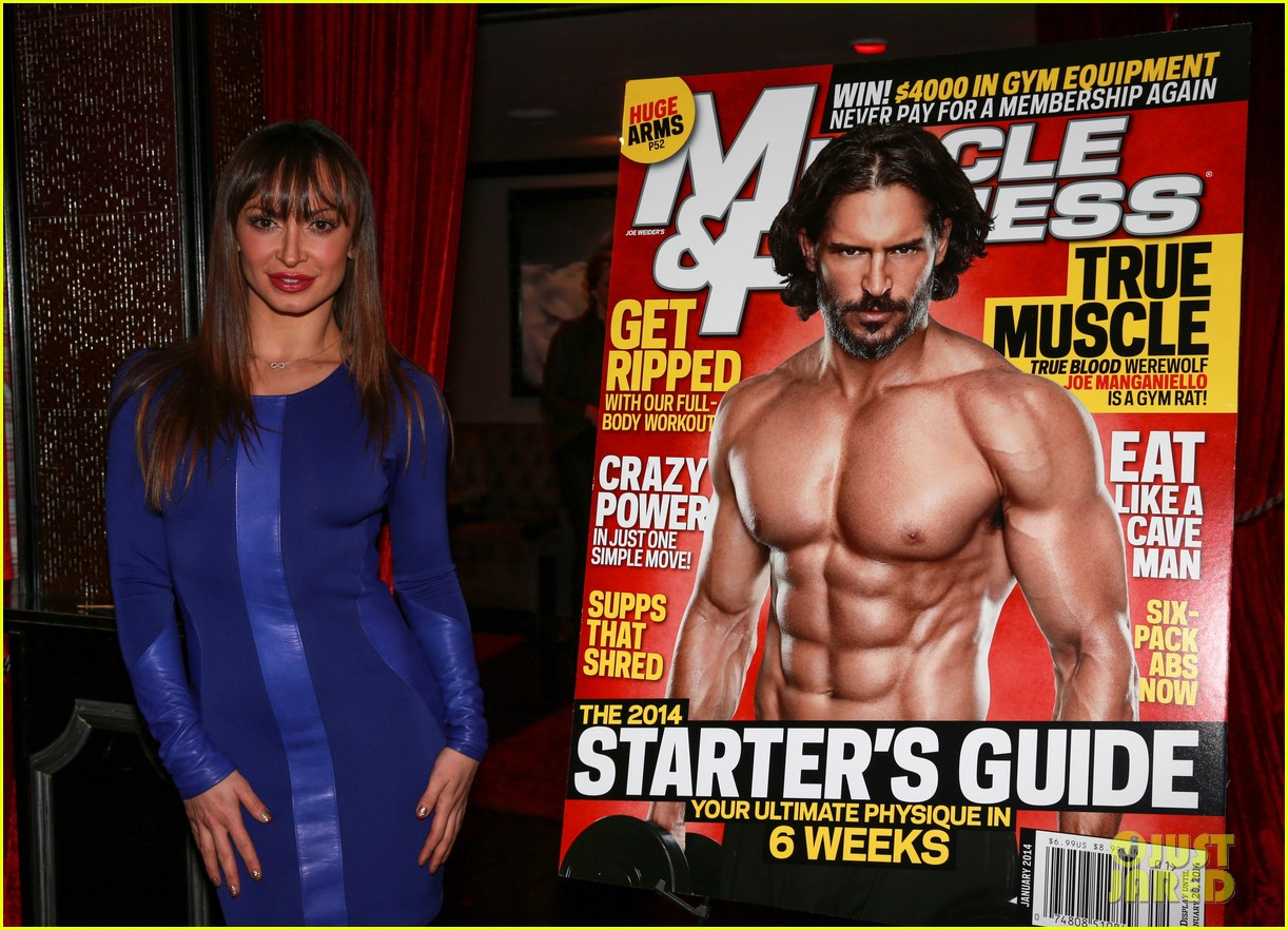 joe manganiello celebrates muscle fitness cover with arnold schwarzenegger 063014928