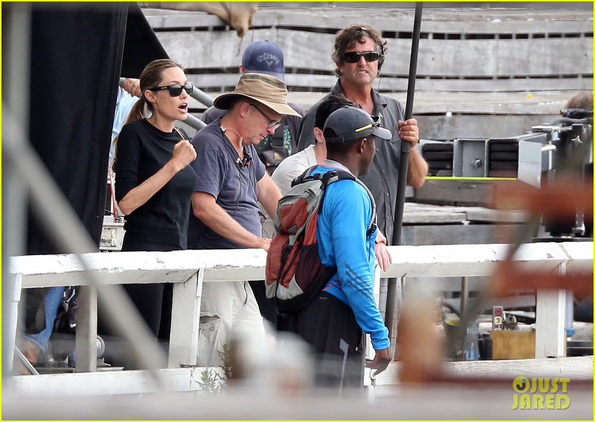 angelina jolie back to work for unbroken after family weekend 173008188
