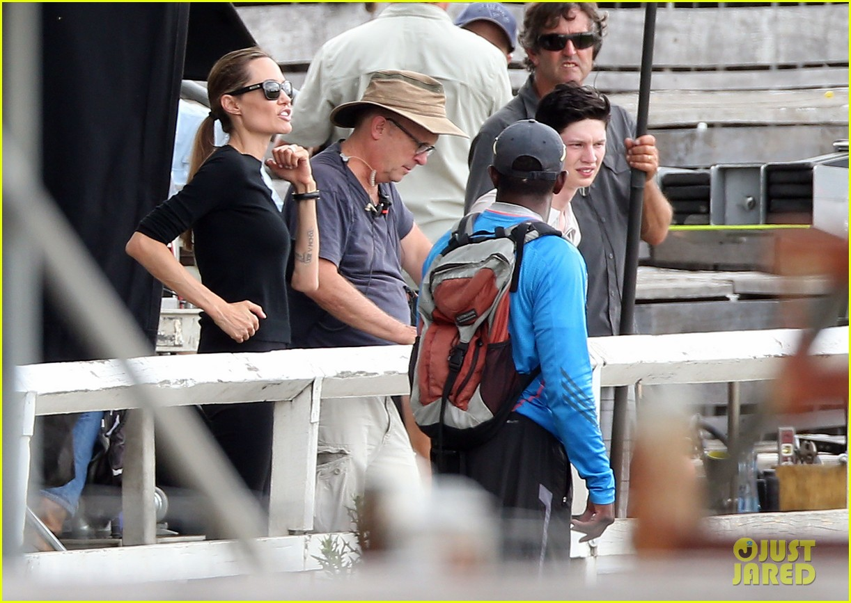 angelina jolie back to work for unbroken after family weekend 203008191
