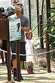 angelina jolie brad pitt visit the zoo with all six kids 10
