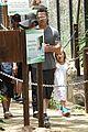 angelina jolie brad pitt visit the zoo with all six kids 11