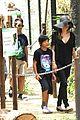angelina jolie brad pitt visit the zoo with all six kids 15