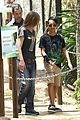 angelina jolie brad pitt visit the zoo with all six kids 17