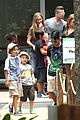 angelina jolie brad pitt visit the zoo with all six kids 62