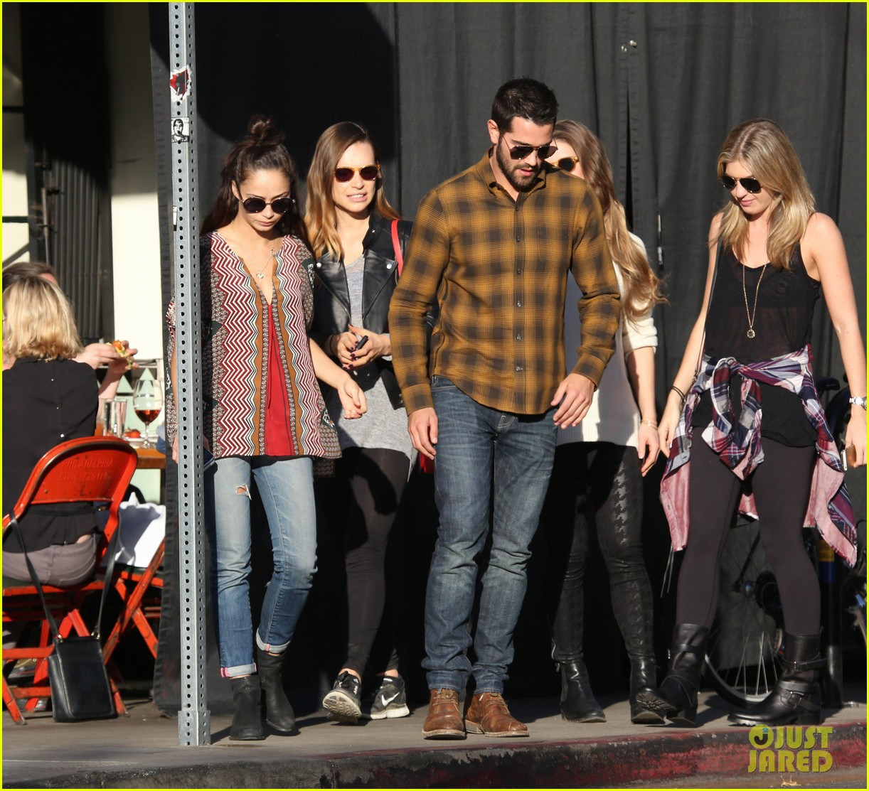 joe jonas jesse metcalfe lunch with their gals 053019767